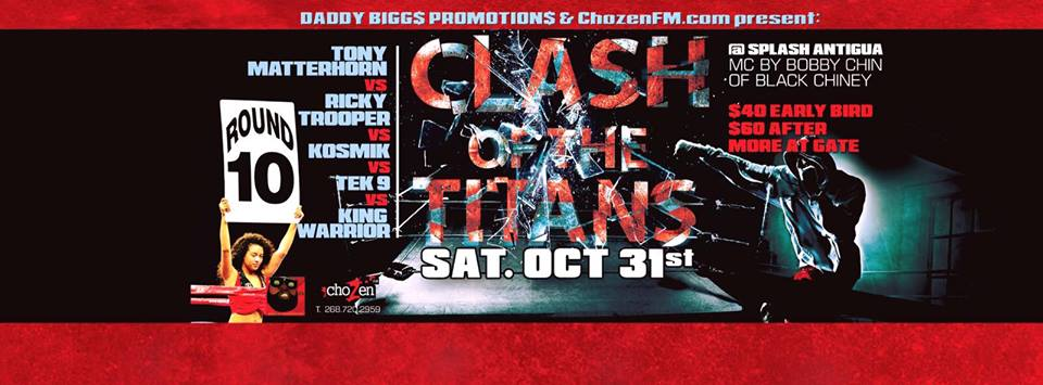 CLASH OF THE TITANS LIVE